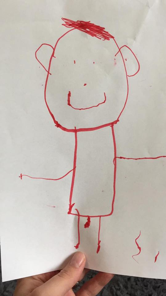 dziecięce rysunki