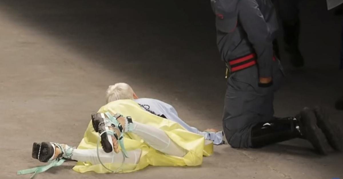 śmierć modela na wybiegu w sao paulo