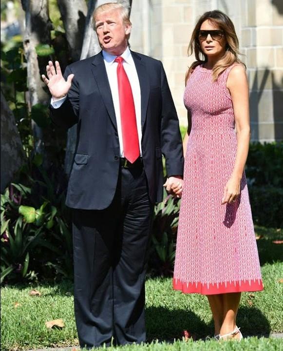 Melania i dDonald Trump