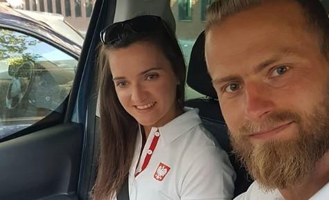 Joanna Mazur i Michał