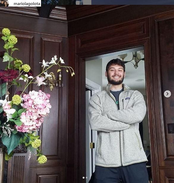Syn Andrzeja Gołoty ma już 22-lata. Jest dziś bardzo przystojnym mężczyzną