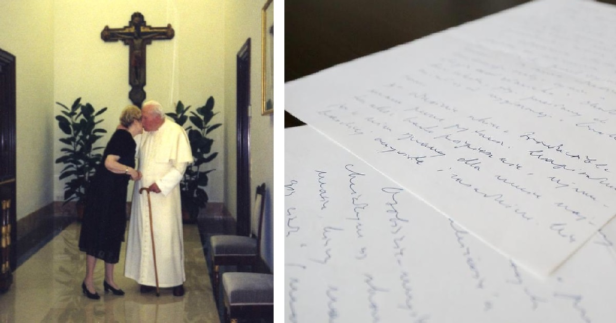 Jana Pawła II łączyło z nią coś więcej niż przyjaźń? Czułe listy mają być tego dowodem