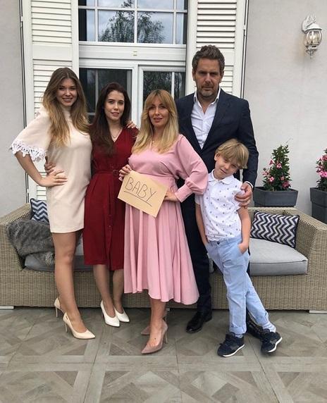 Wojciech Modest Amaro i jego rodzina