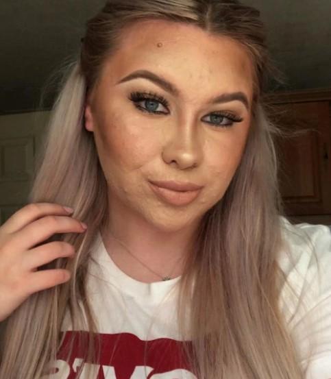 Wstydzi się wychodzić z domu bez makijażu. W końcu pokazała, jak naprawdę wygląda
