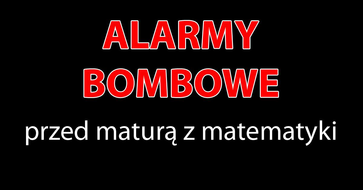 alarmy przed maturą