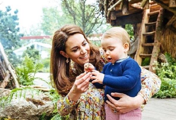 księżna Kate z synkiem