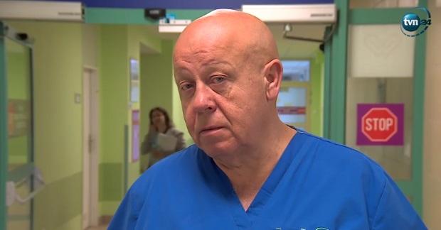 Atak nożownika w szpitalu