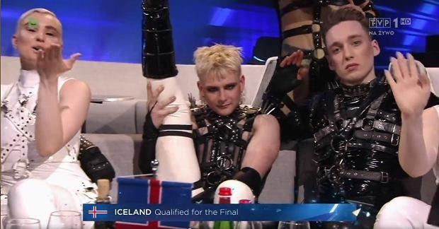 Islandia przeszła do finału Eurowizji