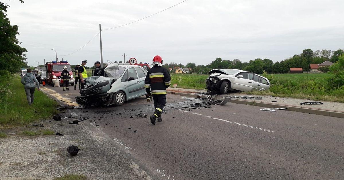 wypadek pod Biłgorajem