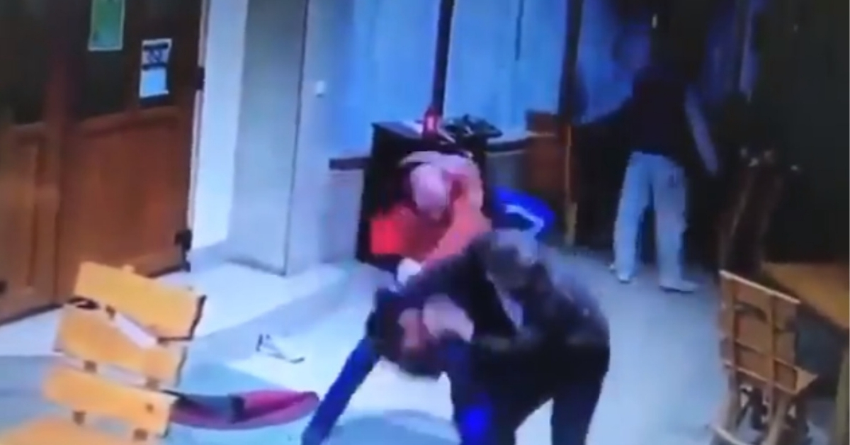 turcy pobici przez polaków za molestowanie kobiety w krakowie