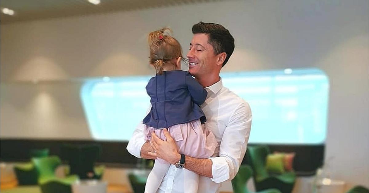lewandowski z córką