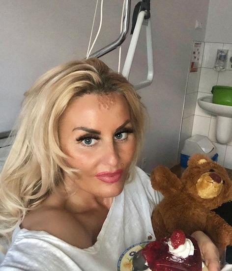 Dagmara Kaźmierska w szpitalu