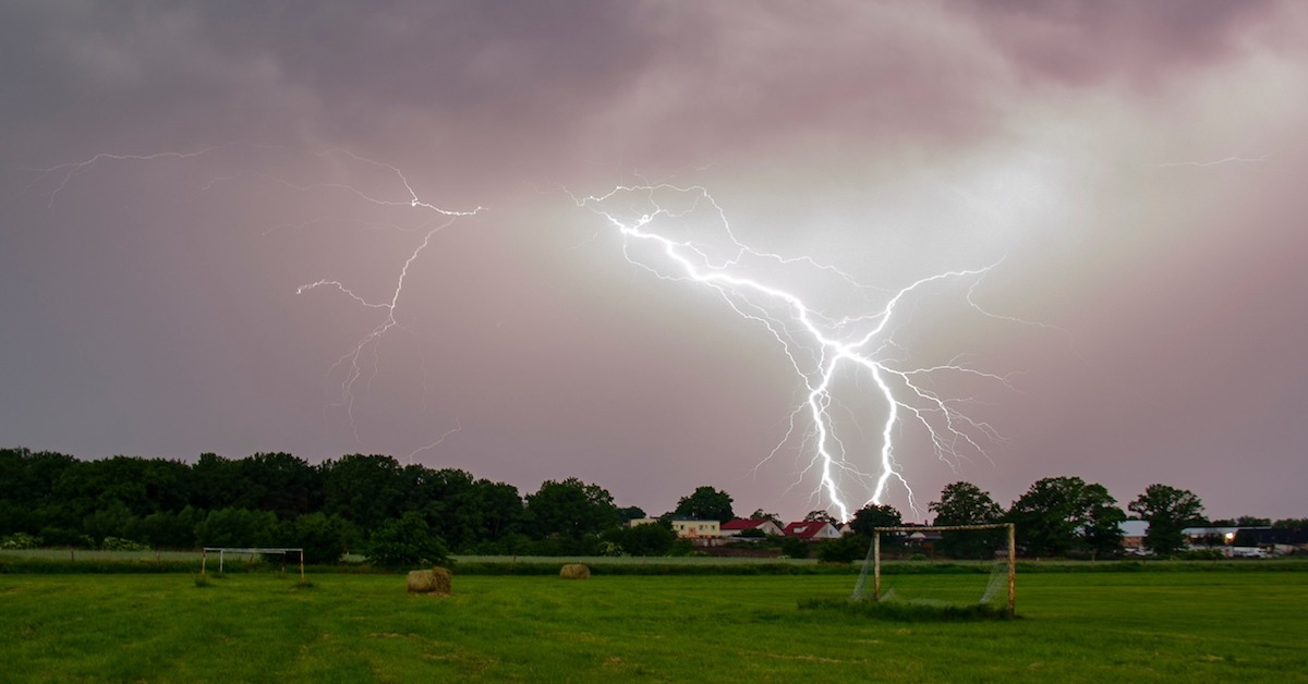 Prognoza pogody na weekend jest koszmarna. Będą burze, deszcze i wichury