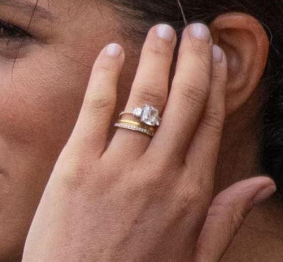 Meghan zmodyfikowała pierścionek zaręczynow