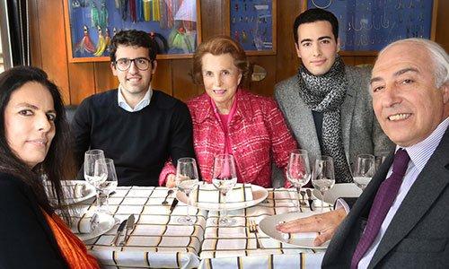 synowie Francoise Bettencourt Meyers