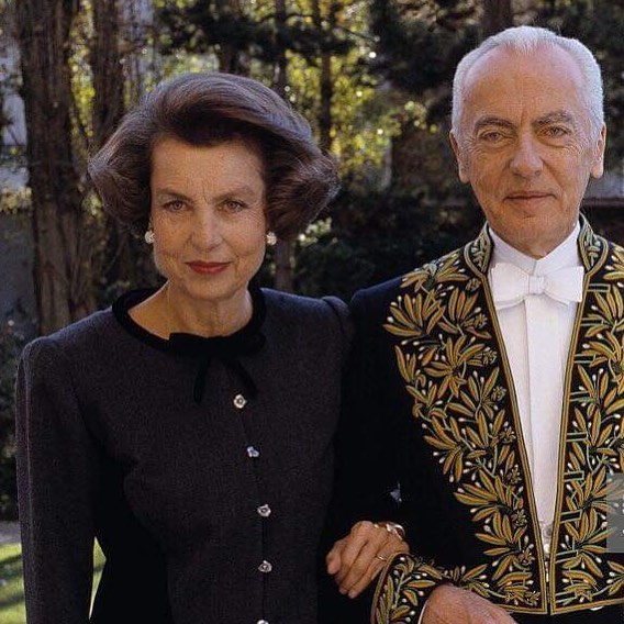rodzice Francoise Bettencourt Meyers