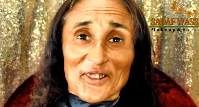 Ludzie mówili, że wygląda jak Baba Jaga. Po wizycie u makijażystki odmłodniała o 20 lat!
