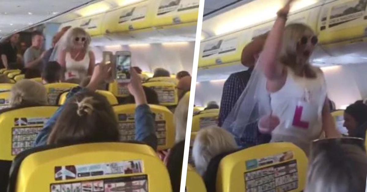 Skandaliczne zachowanie kobiet w samolocie. Załoga Ryanaira w ogóle nie reagowała