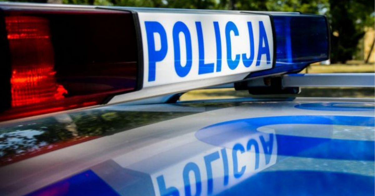radiowóz policji