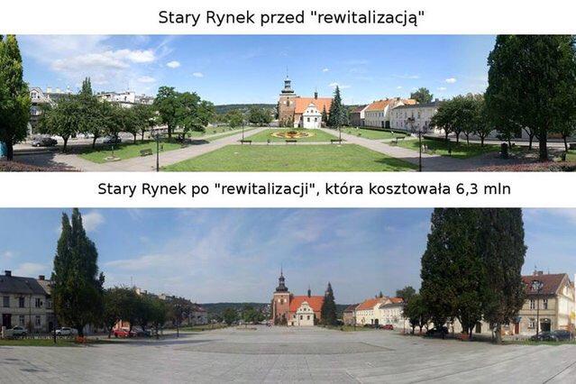 """""""Betonoza"""" w polskich miastach. Urzędnicy zamieniają zielone skwery w """"betonowe patelnie"""""""