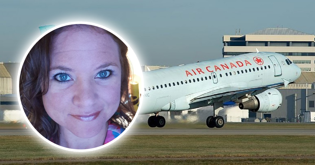 Zasnęła w samolocie. Gdy się obudziła, była na pokładzie sama w ciemnościach