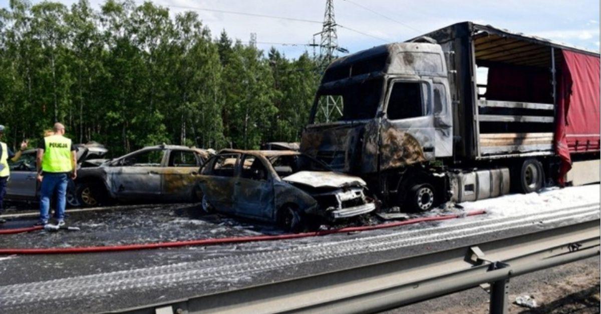 wypadek pod Szczecinem