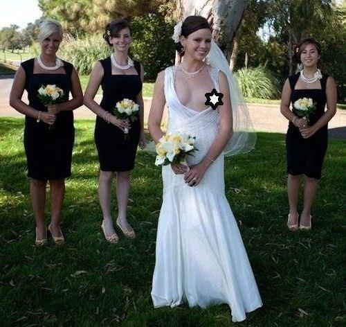 Ślubne wpadki. Państwo młodzi na pewno chcieliby zapomnieć o tych zdjęciach