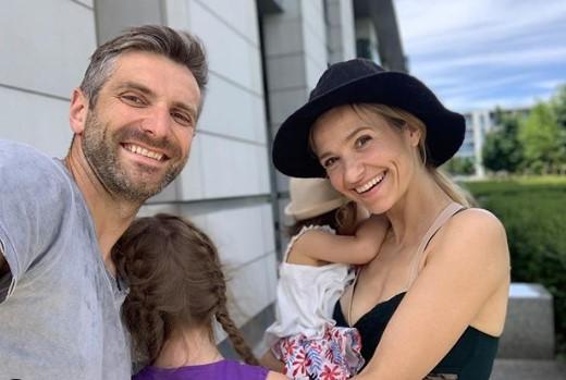 Joanna Koroniewska i mąż