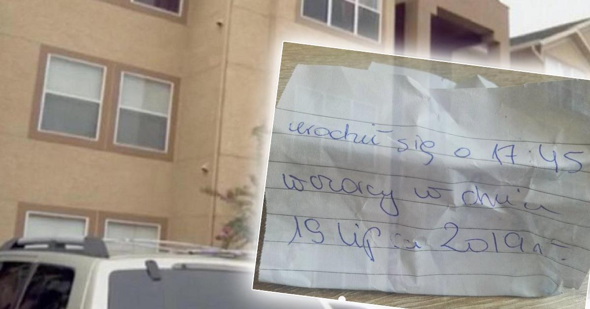Noworodek porzucony pod drzwiami domu. Matka zostawiła przy nim wstrząsający list