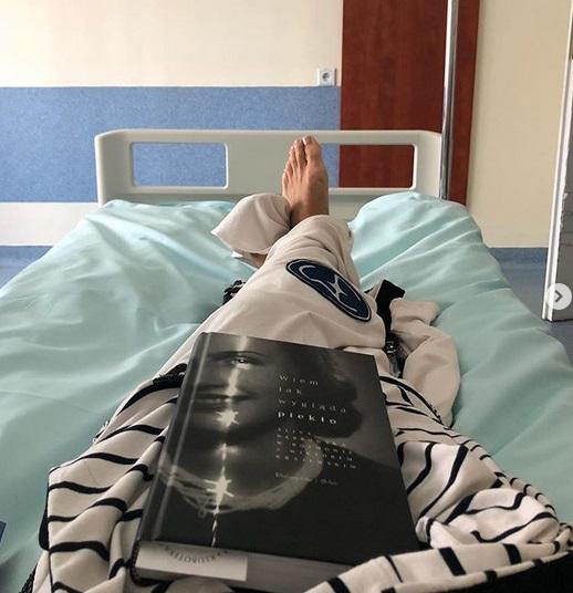 Ewa Minge trafiła do szpitala