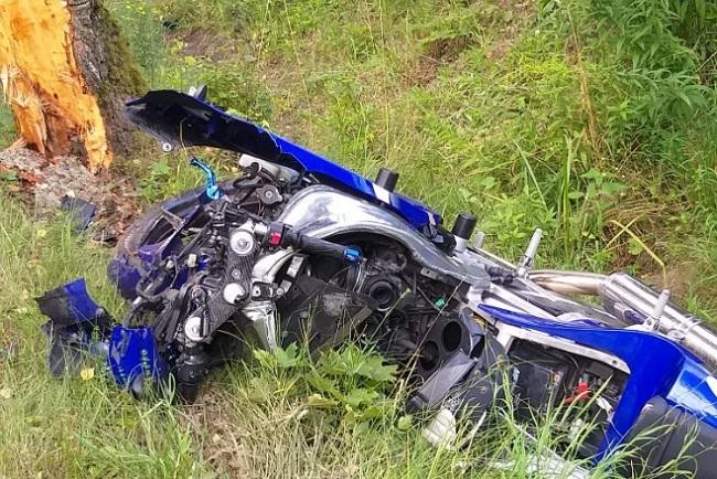 Motocyklista zginął