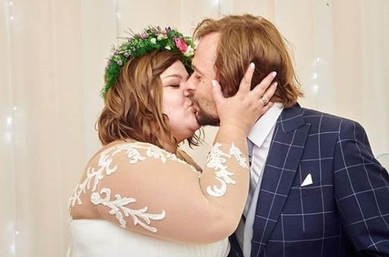 Rocznica ślubu Dominiki Gwit