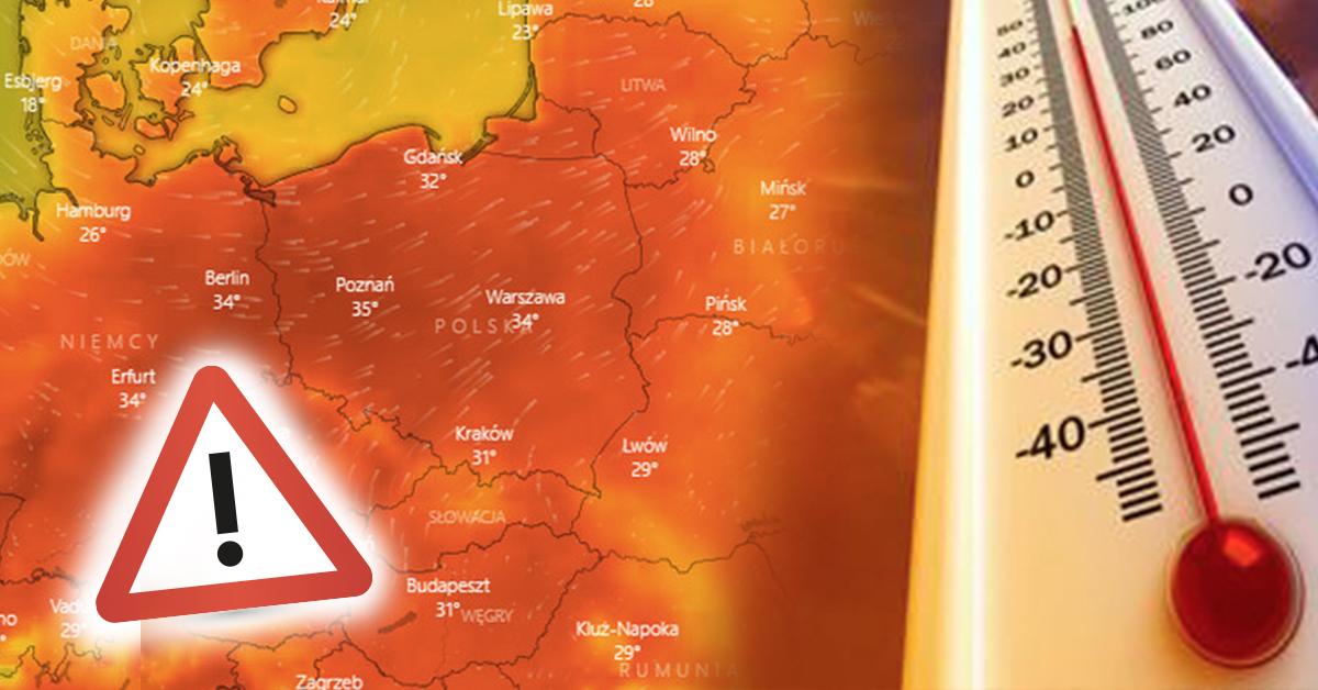 Diametralna zmiana pogody. Nad Polskę nadciąga fala bardzo ciepłego powietrza