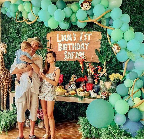 Synek Mariny obchodził 1. urodziny. Gwiazda pochwaliła się zdjęciami z imprezy