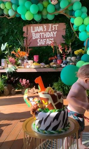 Urodziny synka Szczęsnych