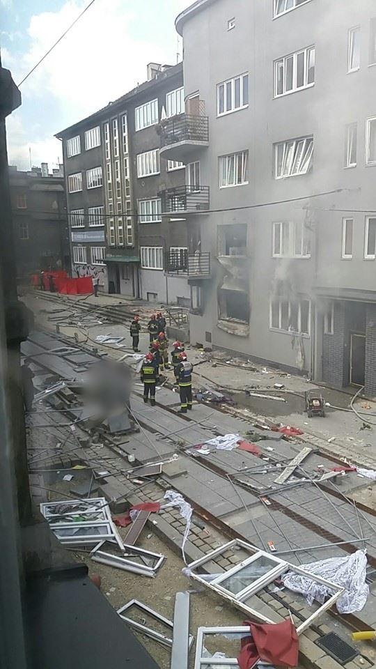 Wybuch gazu w Bytomiu