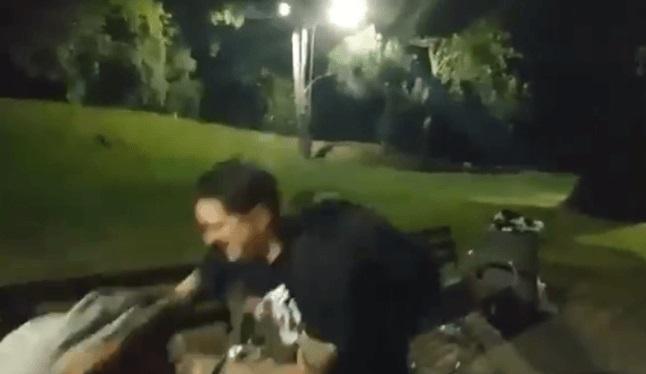 Youtuber z Rzeszowa zaatakował nietrzeźwego bezdomnego. Jego koledzy wszystko nagrali
