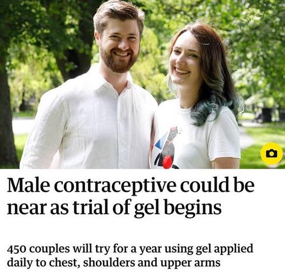 Od roku testuje żel antykoncepcyjny dla mężczyzn. Zauważył tylko jeden skutek uboczny