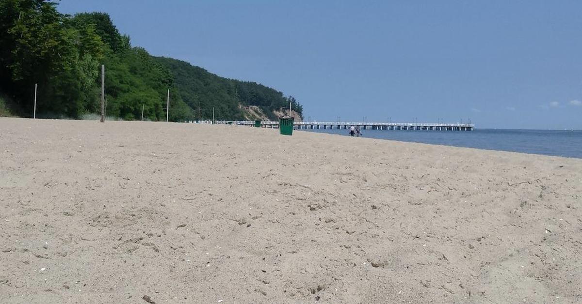 plaża w orłowie w gdyni