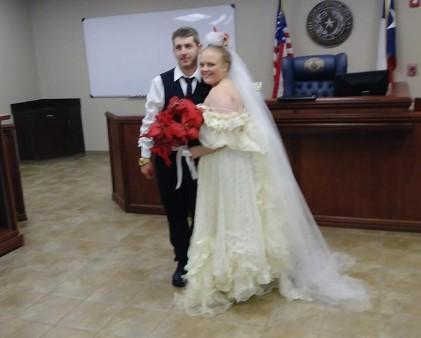 Byli małżeństwem zaledwie pięć minut. Zginęli na oczach najbliższych