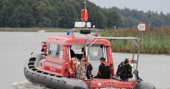 poszukiwania piotra woźniaka-staraka na jeziorze kisajno