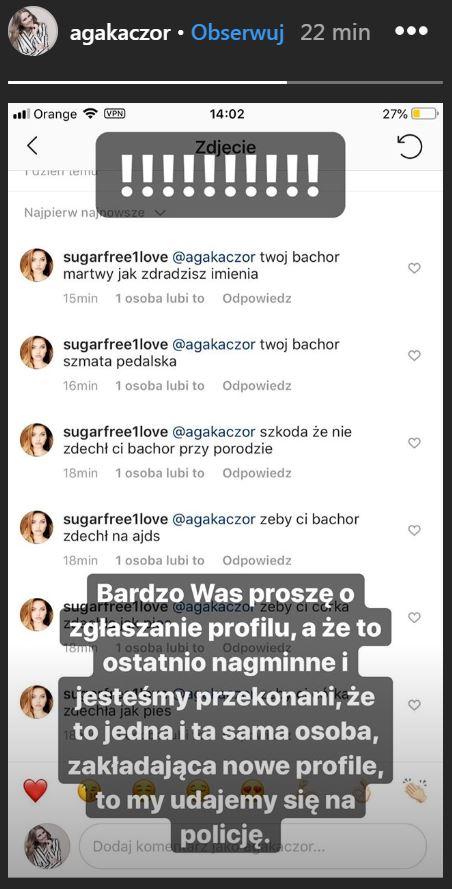 jak ma na imię córka Agnieszki Kaczorowskiej