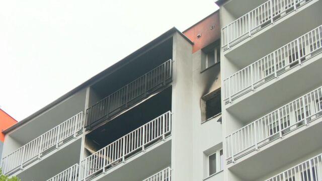 Pożar w Zabrzu