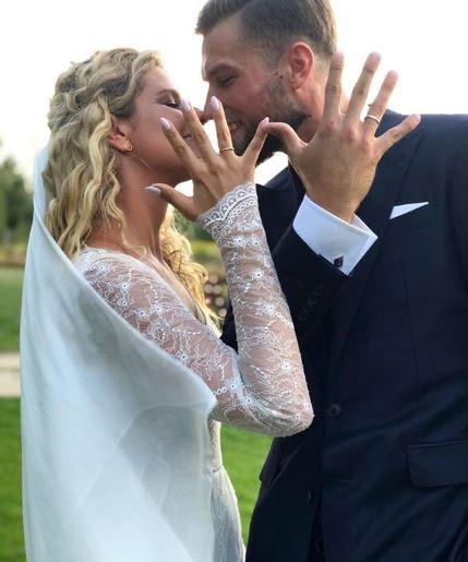 Zosia Zborowska i Andrzej Wrona wzięli ślub