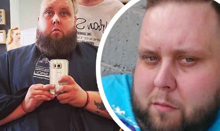 """Big Boy z """"Gogglebox"""" szokuje. Pozuje nago i pokazuje ciało po zrzuceniu 160 kilogramów"""