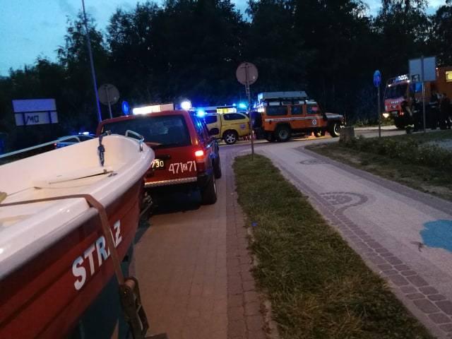 czworo spadochroniarzy wpadło do Bałtyku