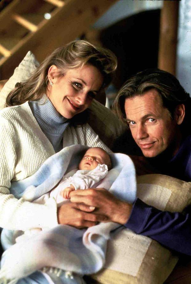 gabrielle carteris z mężem i córką
