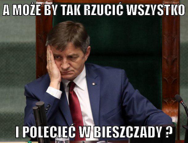 13 najzabawniejszych memów z marszałkiem Kuchcińskim w roli głównej. Internauci nie mieli litości