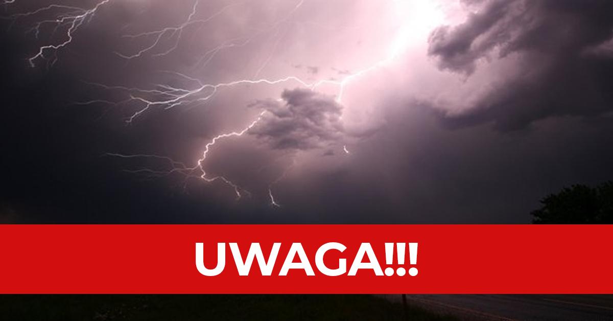Pogoda na niedzielę 1.08.2021. Będą burze z gradem, a nawet trąby powietrzne!
