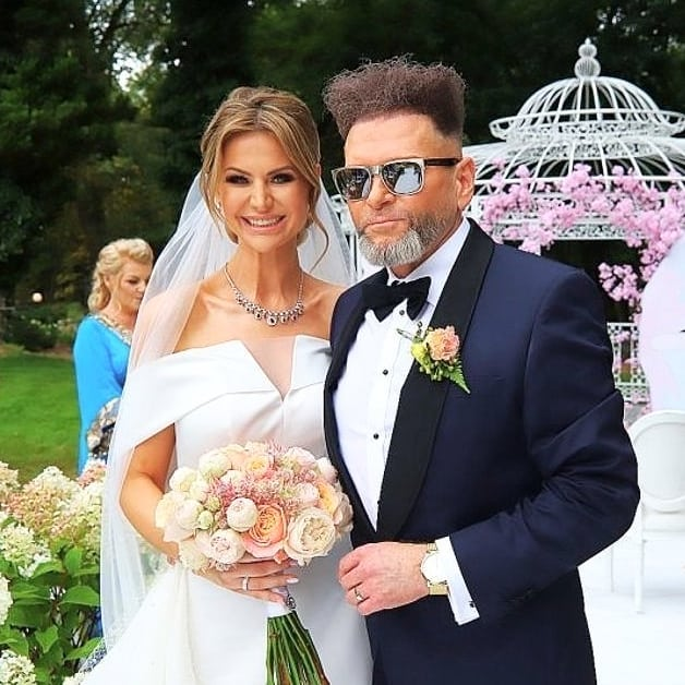 Maja Plich i Krzysztof Rutkowski po ślubie
